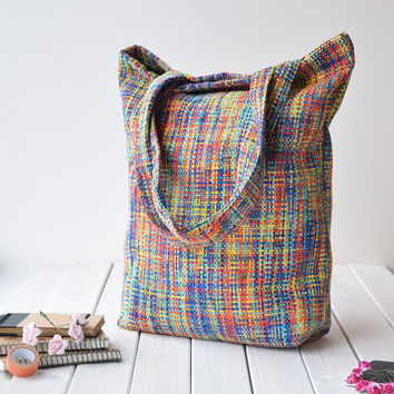 Tote bag, handbags, women's bag, shopping bag, shoulder bags, book bag, reusable bag, bag tote, tote bag canvas, bag, gift for her, colorful