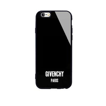 Black GIVENCHY Case for iPhone 7 8 XS MAX XR