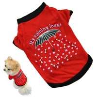 Pet T-shirt Small Costume Summer