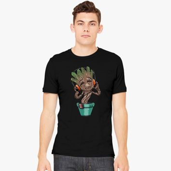 Dancing Baby Groot Men's T-shirt | Customon.com
