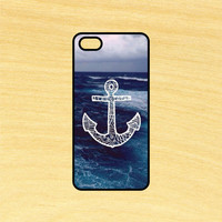 Anchor Ocean Art Phone Case iPhone 4 / 4s / 5 / 5s / 5c /6 / 6s /6+ Apple Samsung Galaxy S3 / S4 / S5 / S6