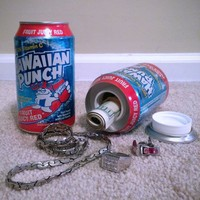Hawaiian Punch Soda Can Diversion Stash Safe