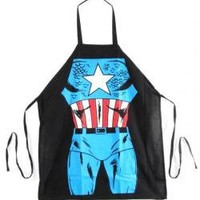 ROCKWORLDEAST - Captain America, Apron, Uniform