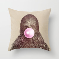 Chewie Throw Pillow by Eric Fan