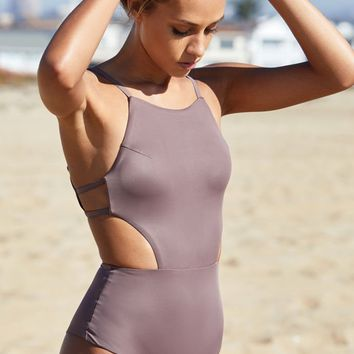 RVCA Solid One Piece Swimsuit at PacSun.com