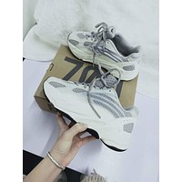ADIDAS YEEZY 700 BOOST Tide brand retro comfortable men and women models wild casual sports shoes 3#