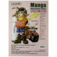 "Copic Markers 8.3"" by 11.7-Inch Manga Nat White, 30 Sheets"