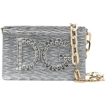 DCCKIN3 Dolce & Gabbana Small Logo Shoulder Bag