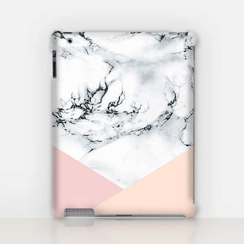 Pastel Marble iPad Case For - iPad 2, iPad 3, iPad 4 and iPad Mini, Fine Art Hard Case