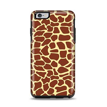 The Simple Vector Giraffe Print Apple iPhone 6 Plus Otterbox Symmetry Case Skin Set