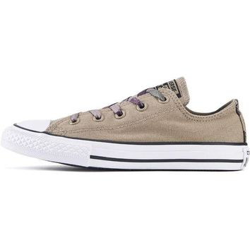 VONET6 Converse for Kids: Chuck Taylor All Star Ox Sandy/Camo Sneakers