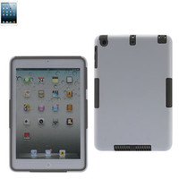 Reiko Silicon Case + Protector Cover IPAD MINI WHITE GRAY