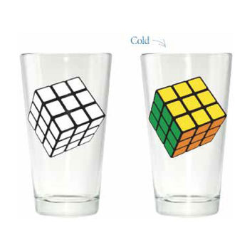 Rubik's - Pint Glass
