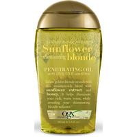 OGX Sunflower Shimmering Blonde Penetrating Oil