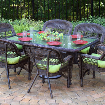 Tortuga Outdoor Portside 7 pc Dining Set