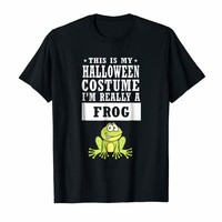 Frog Halloween Costume T-shirt - This Is My Costume