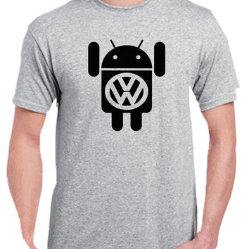 vw android Tshirt