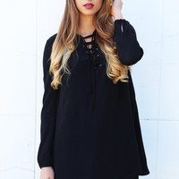The Spice Is Right Tie Front Dress