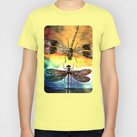 DRAGONFLY meets a Friend Kids T-Shirt by Pia Schneider [atelier COLOUR-VISION]
