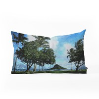 Deb Haugen Island Oblong Throw Pillow