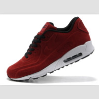 NIKE leisure sports running shoes Red