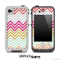 Vintage Colorful Chevron Pattern for the iPhone 5 or 4/4s LifeProof Case