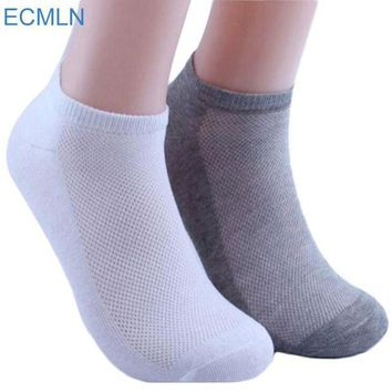 ac PEAPO2Q 5Pairs Womens Socks Ankle Socks Summer Thin Boat Socks Female Solid Casual 3d Ladies Art Hot Sox Chaussettes
