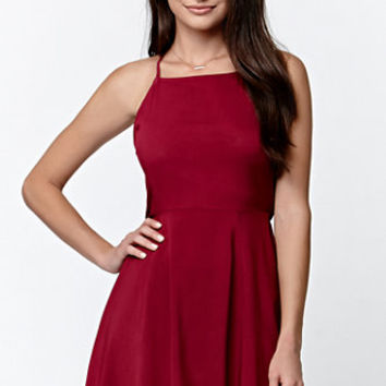 LA Hearts Backless Crisscross Tank Dress at PacSun.com