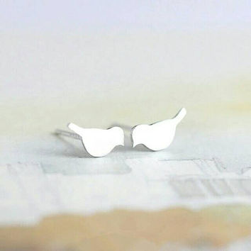 Bird Stud Earrings - Small Earrings - Minimalist Earrings - Statement Earrings - PREORDER