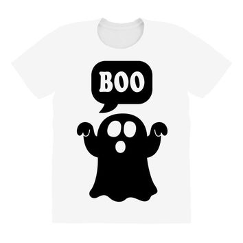 Ghost Boo All Over Women's T-shirt