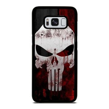 THE PUNISHER SKULL Samsung Galaxy S3 S4 S5 S6 S7 Edge S8 Plus, Note 3 4 5 8 Case Cover