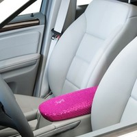 Pink Shock Rock Glitter – Fashion Center Console Cover