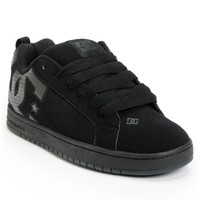 DC Court Graffik SE Black & Carbon Fiber Skate Shoes