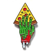 Grab-A-Slice Zombie Hand Pizza Pin