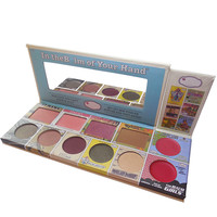 Professional 11-color Stylish Eye Shadow and Blush Make-up Palette [10937929039]