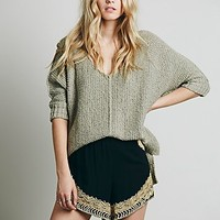 Jen s Pirate Booty for Free People Womens Tango Embroidered Short - Black