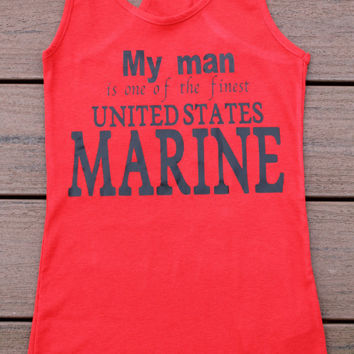 My man is one of the finest United States Marines