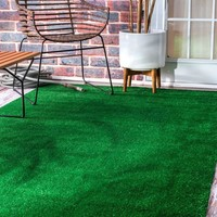 nuLOOM Artificial Grass Area Rug