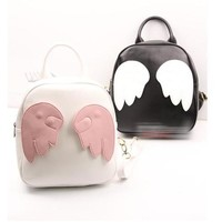 Women's chromatic angel wings backpack free shipping