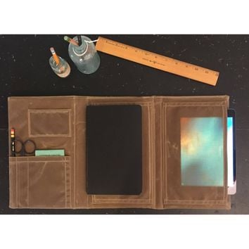 The Ledger Collection Trifold: Journal and Tablet Portfolio