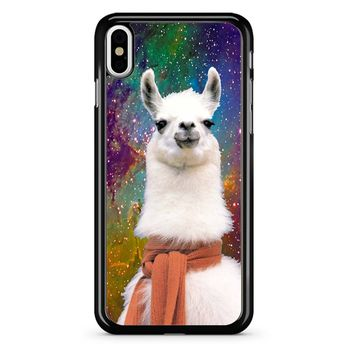 Llama Galaxy iPhone X Case