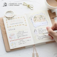 0.5CM Wide Life Various Patterns Slim Washi Tape DIY Scrapbooking Sticker Label Masking Tape School Office Supply