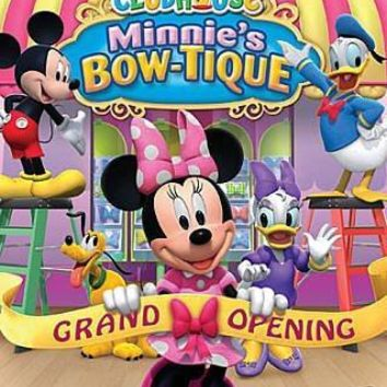 MICKEY MOUSE CLUBHOUSE:MINNIE'S BOW T