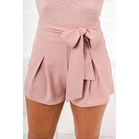The New Me Shorts (Mauve)