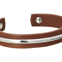 Fossil Leather Cuff Bracelets