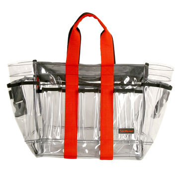 TM-3-4  Make-Up Tool Bag (Medium in clear plastic)