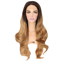 Honey Dip Lace Front Wig - Powder Room D