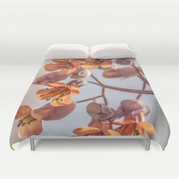 Signs of Spring Duvet Cover by Xiari_photo