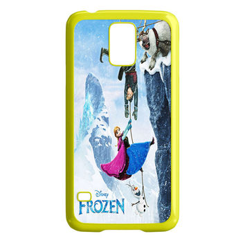 Frozen Elsa Purple Dress Samsung Galaxy S5 Case