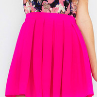Hot Pink Blaire Skirt
